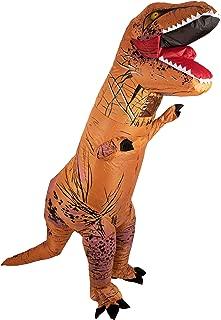 Lumunu Deluxe aufblasbares T-Rex Kostüm Herbert, Party Ganzkörperkostüm für Erwachsene, One Size