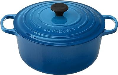 Le Creuset Enameled Cast Iron Signature Round Dutch Oven, 7.25 qt., Marseille