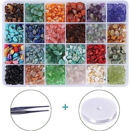 5-8mm 17 Strand Natural Opalite Medium Chips 1mm Hole Bling Beads blingbeads