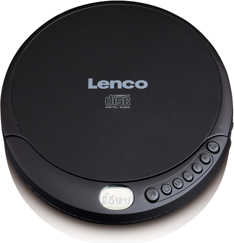 Lenco CD-010 Reproductor de CD Portable CD Player Negro - Unidad de CD (Portable CD Player, Negro, Azar, Repetir Todo, CD, Repetir, Repetir Todo, LCD) ASIN: B07DQ2Z3GP Ver en Amazon