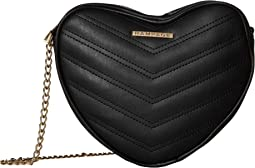 Heart Shaped Quilted Crossbody