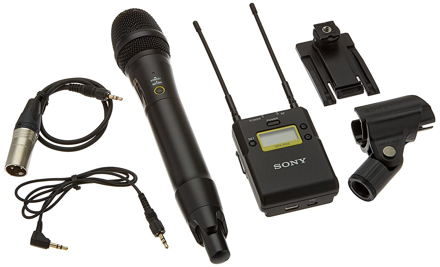 Sony Integrated Digital Wireless Handheld Microphone ENG System-UWPD12/14, Black (UWPD12/14)