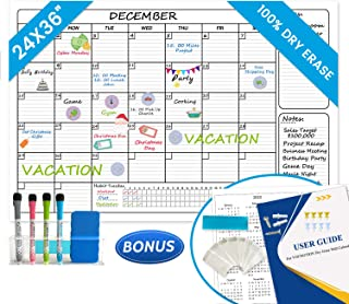 erasable wall planner undated