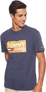 Tommy Jeans Men's Tjm Scratched Box T-Shirt