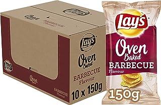 Lay's Oven Baked Chips Barbecue, Doos 10 stuks x 150 g