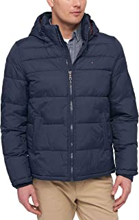 Men's Classic Hooded Puffer Jacket (Regular and Big & Tall Sizes)