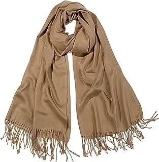 SOJOS Womens Large Soft Cashmere Feel Pashmina Shawls Wraps Winter Scarf SC304 S306