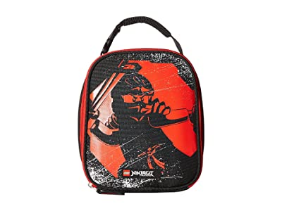 LEGO Ninjago(r) Red Ninja Lunch Bag (Black) Duffel Bags
