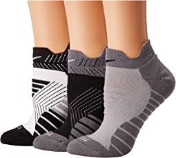 Nike - Dry Cushioned Mesh Low Training Socks 3-Pair Pack