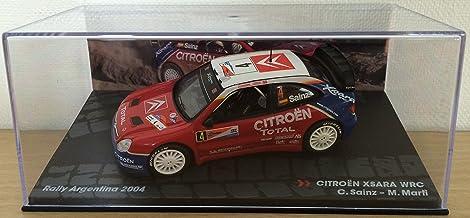 1:43 RALLY COCHE : CITROEN XSARA WRC SAINZ / MARTI RALLY ARGENTINA 2004 IXO 1/43 RALLYE