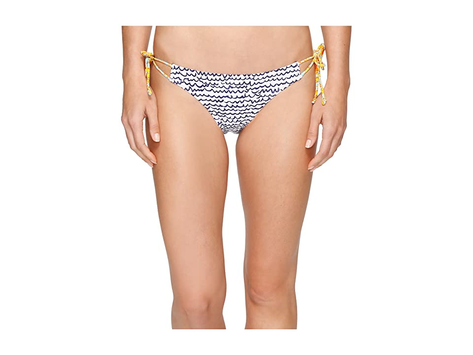 Echo Design Fleur De La Mer String Bikini Bottom (White) Women