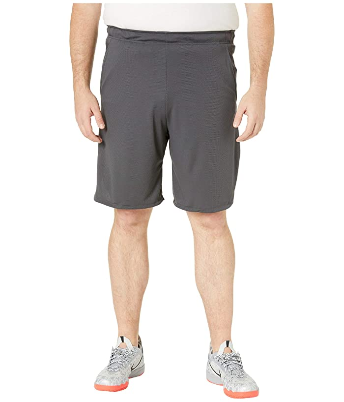 Nike Big Tall Dry Shorts 4.0 (Anthracite/Black) Men