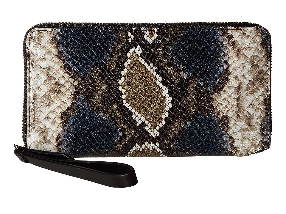AllSaints Fetch Phone Wristlet (Black Multi/Black) Wristlet Handbags