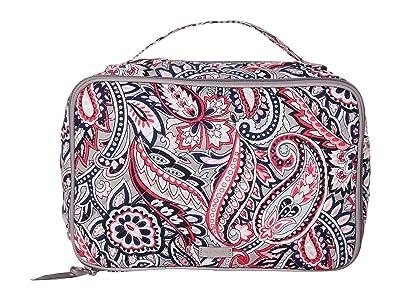 Vera Bradley Large Blush Brush Case (Gramercy Paisley) Luggage