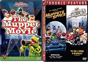 Space Swamp New York the Muppets Triple Feature Kermit Green The Swamp Years Movie + Takes Manhattan & in Space Jim Henson...
