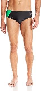 Speedo Mens' Brief Swimsuit-Powerflex Eco Revolve Splice
