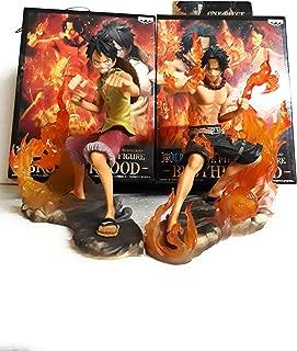One Piece DX Luffy Ace Brotherhood Anime Cartoon 2 Years Later 2pcs/set 15cm PVC Action Figure Toys Battle Ver Model Dolls