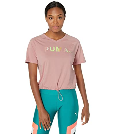 PUMA Chase V Tee (Bridal Rose) Women