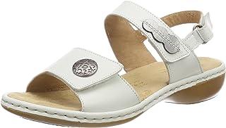 : Compensees Blanc Sandales mode Sandales et