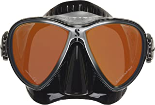 SCUBAPRO Synergy 2 TruFit Mirrored Single Lens Mask,Black/Silver/Mirror