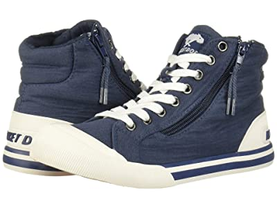 Rocket Dog Jazzin Hi (Navy) Women