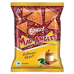 Bingo Mad Angles Achaari Masti Namkeen, 80 g