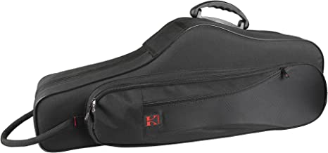 Kaces Lightweight Hardshell Tenor Sax Case, Black (KBF-TS1)