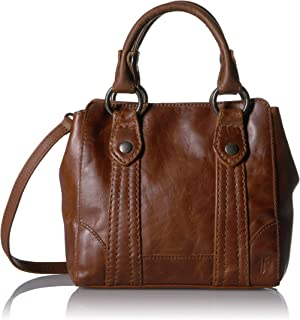 Melissa Mini Leather Crossbody Tote Bag