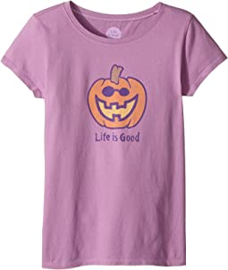 Life is Good Kids - Jack O'Lantern LIG Crusher Tee (Little Kids/Big Kids)