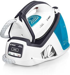 Bosch TDS4050 EasyComfort Serie   4 Centro de planchado, 2.400 W, 5.5 bares de presión, color blanco y azul