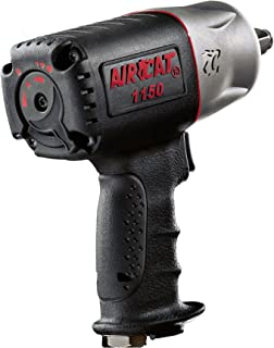 AIRCAT 1150 Killer Torque 1/2-Inch Impact Wrench, Black, Medium