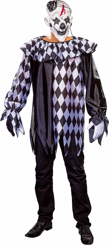 Festartikel Müller Grusel-Clown Kostüm Größe 58 60 B076HT7VLL Guter Markt   | Spielzeugwelt, spielen Sie Ihre eigene Welt