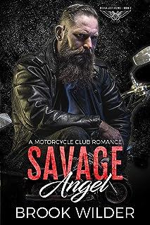 Savage Angel: A Motorcycle Club Romance (Rough Jesters MC Book 1)