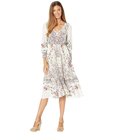 Lucky Brand Felicity Dress (Natural Multi) Women