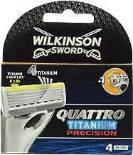 Best wilkinson sword quattro titanium precision Reviews