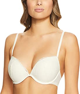 Calvin Klein Women's Rose Lace Add A-Size Plunge Bra