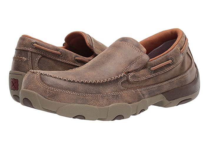 Twisted X  MDMSC03 Composite Toe (Brown) Mens Shoes