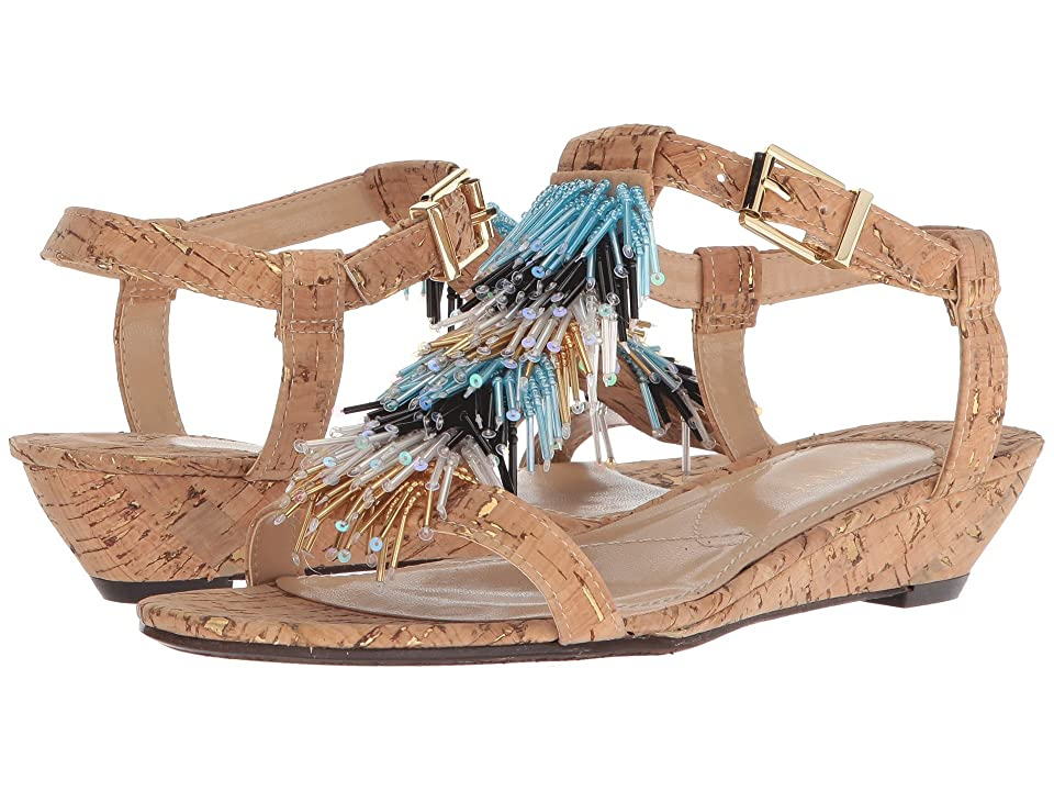 J. Renee Aleesa (Natural/Gold) High Heels