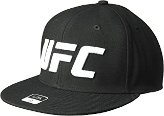 UFC Unisex-Adult Flat Visor Flex SMU Cap