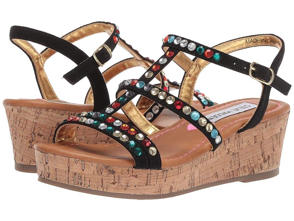 Steve Madden Kids Jjewella (Little Kid/Big Kid) (Black Multi) Girls Shoes