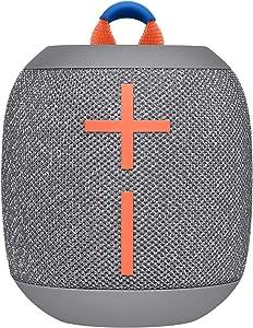 Ultimate EarsUltimate Ears Wonderbooms 2 Altavoz Inalámbrico, Graves Profundos, Sonido Envolvente de 360°, Impermeable, Conexión de 2 Altavoces para Sonido Potente, Batería de 13 h, color Gris
