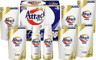 【洗剤ギフト】 アタックZERO 400g*1本 つめかえ360g*6袋 (抗菌+プラス 24時間部屋干し臭を防ぐ)