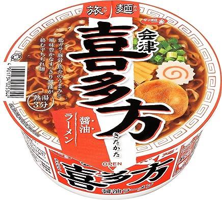 サッポロ一番 旅麺 会津?喜多方 魚介醤油ラーメン 86g×12個