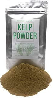 Organic Kelp Powder - Wildcrafted in France from Wild Collection - Net weight: 2.11 Ounces / 60 Gram - Thongweed, Sea Thong, Sea Spaghetti - Himanthalia Elongata Powder