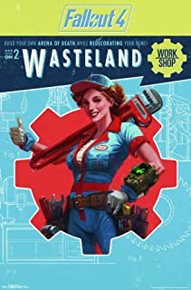 Trends International Fallout 4: Wasteland - Workshop Wall Poster, 22.375