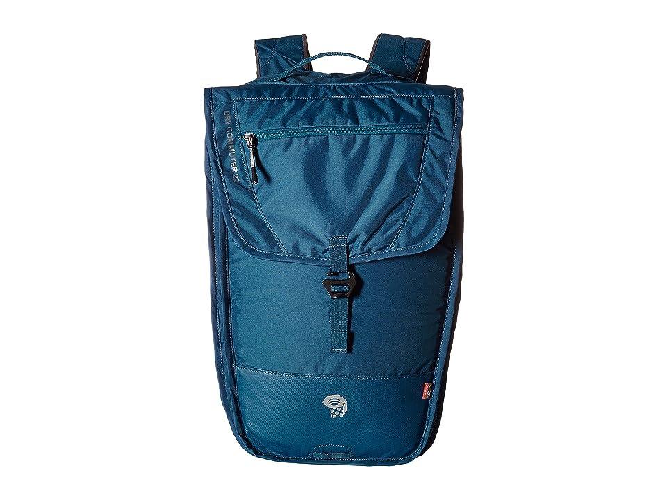 Mountain Hardwear DryCommuter 22L OutDry (Phoenix Blue) Backpack Bags