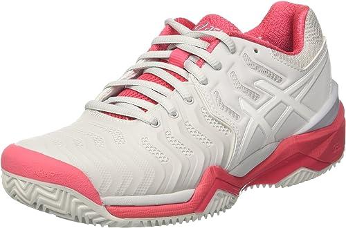 ASICS Gel-Resolution 7 Clay, Chaussures de Tennis Femme
