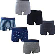 Real Kids Boys' Underwear Cotton Trunk/Briefs/Boxers Combo - Pack of 6 (Multicolor)
