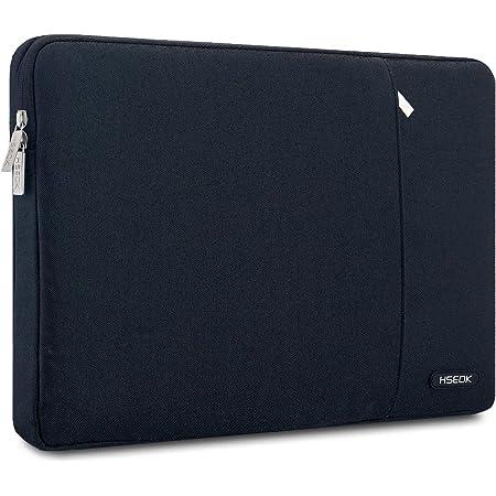 HSEOK 15-15.6インチ ノートPC ケース 耐衝撃撥水加工ノートパソコンスリーブ MacBook Pro Retina A1398/Pro A1286 ほとんどの15-15.6インチ PC パソコン(Acer/Asus/Dell/HP/Lenovo/Toshiba/FUJITSU) ブラック…