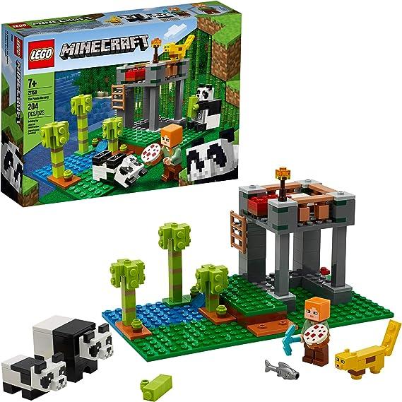 LEGO Minecraft The Panda Nursery 21158 Construction Toy for Kids
